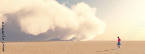 Obraz na plátne Sandsturm