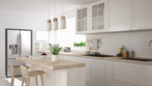 Scandinavian Classic Kitchen W...