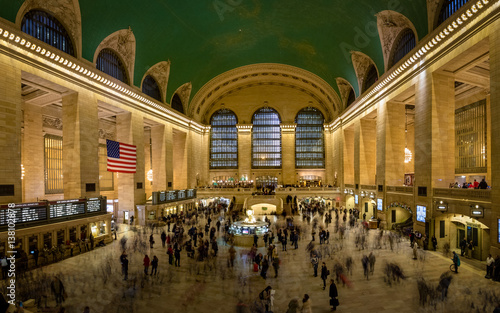 Fotomural Interior of Grand Central Station in New York