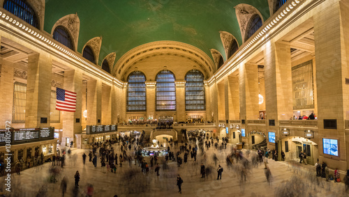 Interior of Grand Central Station in New York Fototapet
