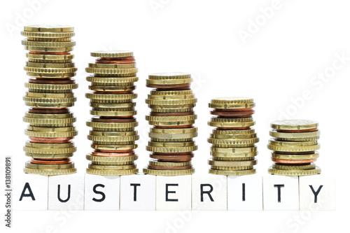 Austerity Canvas Print