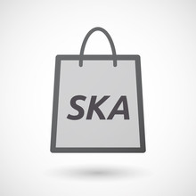 Isolated Shopping Bag With    ...