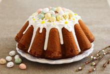 The Traditional Cake For Easter.