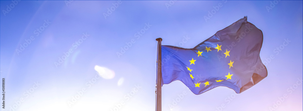 Fototapeta european flag