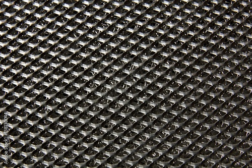 Valokuva  Perforated metal sheet for background.