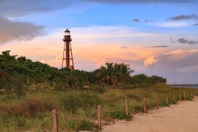 Dusk At Sanibel Island Lighthouse, Florida