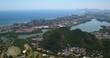 Aerial view of Barra da Tijuca downtown and beach, Rio de Janeiro, Brazil