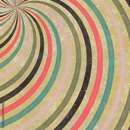Retro Backgrounds with strips Wallpaper Mural