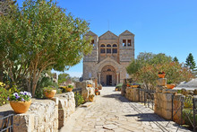 Church Of The Transfiguration, Mount Tabor, Galilee, Israel