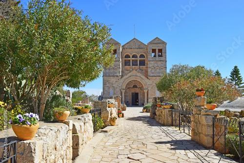 Fényképezés Church of the Transfiguration, Mount Tabor, Galilee, Israel