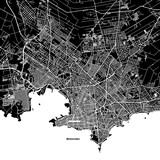Montevideo One Color Map - 138183262
