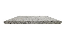 Shelf  Terrazzo Floor On White Background