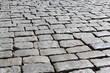 Stone paving texture. Abstract old pavement background.