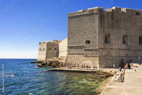 Dubrovnik Old Town Fort of St. John Poster