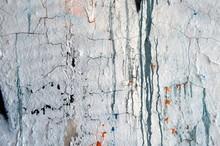 Alte Mauer Mit Rissen Und Flecken