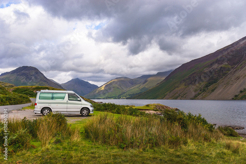 Photo  Wast Water in Lake District