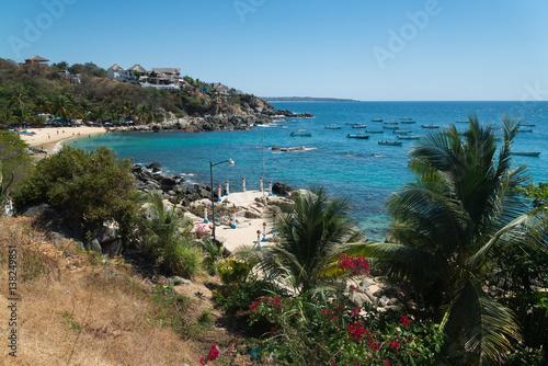 Fotografía  Playa Manzanillo, Puerto Escondido, Mexico