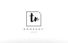 Tn T N Hand Writing Letter Company Logo Icon Design