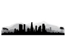 Los Angeles, USA Skyline. City...