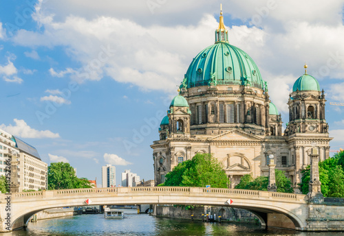 Berlin Cathedral at famous Museum Island, Germany Poster