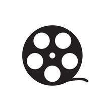 Camera Tape Icon Illustration