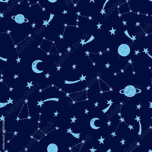 stylizowane-nocne-niebo-wzor