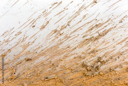 Fotomural  mud splatter background