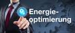 Energieoptimierung / Businessmann