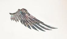 Metallic Angel Wing.Freedom Fairy