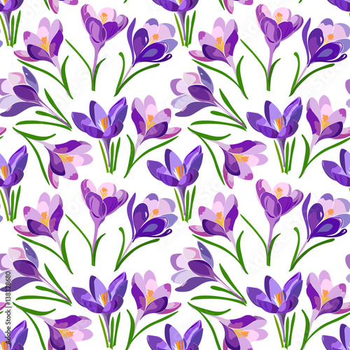 floral-pattern-with-crocus