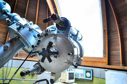 Fotomural Astronomical telescope in Stefanik Observatory, Prague.