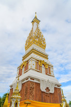Big Pagoda In The Temple