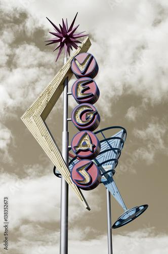 Old Vegas street sign