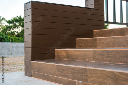 The Ceramic Tile Staircase Steps Ceramic Floor Tiles Wood Pattern