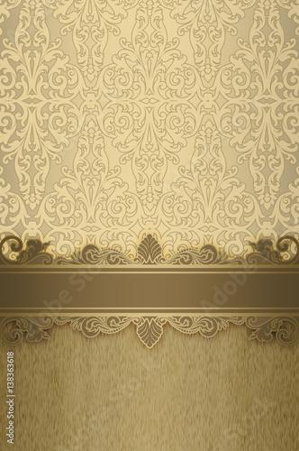 Papiers peints Affiche vintage Decorative vintage background.