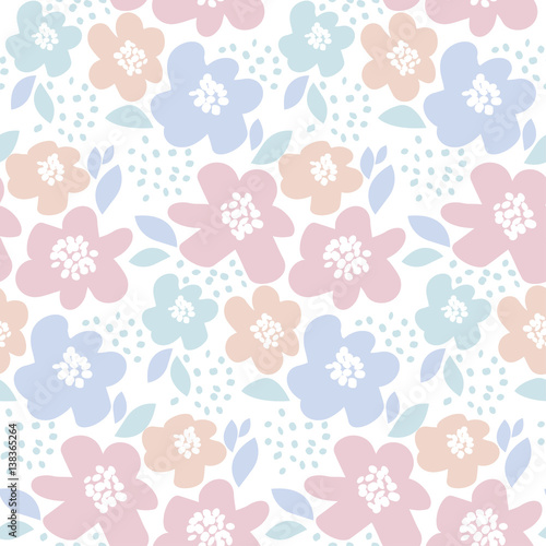 tender-color-floral-vector-illustration-in-retro-60s-style-abstract-hand-drawn-flowers-seamless-pattern-for-fabric-wrapping-paper-baby-projects