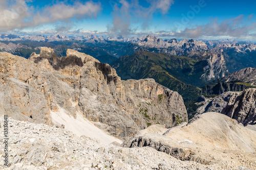 Fotografie, Obraz  Via Ferrata Colver Lugli - Dolomites, Italy