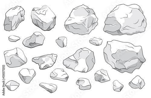 Zestaw kamieni