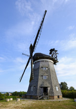 Germany, Usedom, Benz, Traditional Windmill
