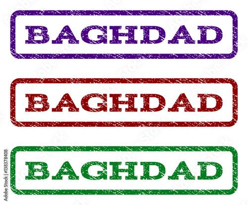 Fényképezés  Baghdad watermark stamp