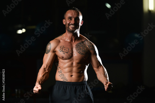 Healthy Man With Six Pack Buy This Stock Photo And Explore Similar