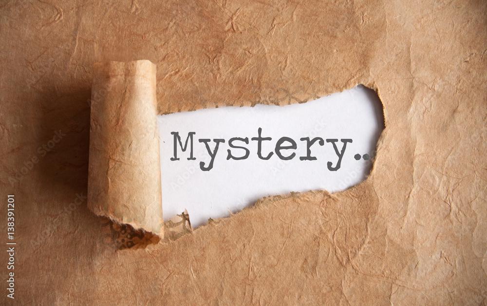 Fototapety, obrazy: Uncovering a mystery