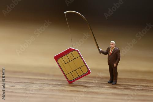 Fotografering  SIMカードの盗難