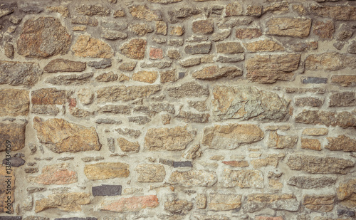 Cuadros en Lienzo granite stone wall background
