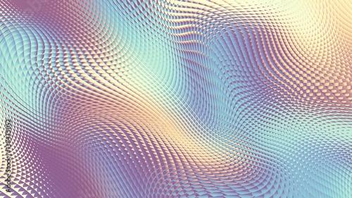 Horizontal geometric background - 138435052
