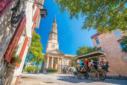 Historical downtown area of...