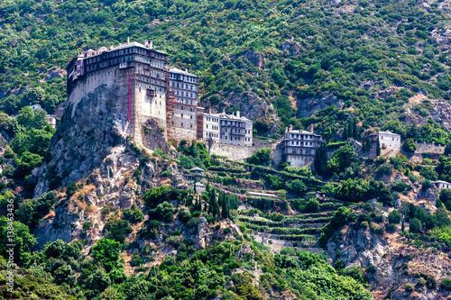 Obraz na plátně Simonopetra monastery, Mount Athos