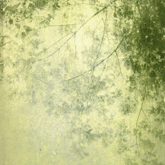 Panel Szklany Grunge Vintage Painting Treetop