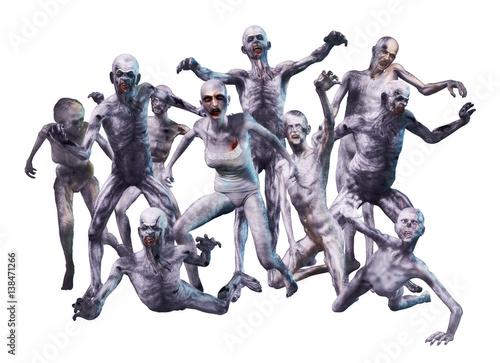 Fotografía  Zombie Crowd Attack
