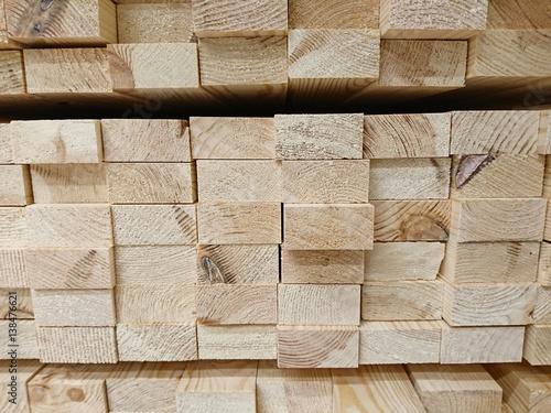 Obraz stos desek, deski, drewno, Construction industry - fototapety do salonu